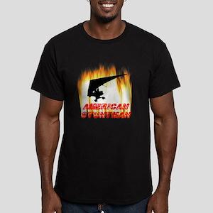 Ultralight Stuntman Men's Fitted T-Shirt (dark)