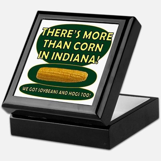 Indiana Corn Keepsake Box