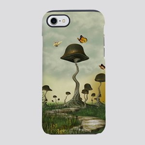 Strange Mushrooms iPhone 7 Tough Case
