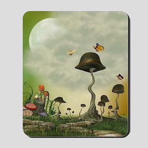 Strange Mushrooms Mousepad