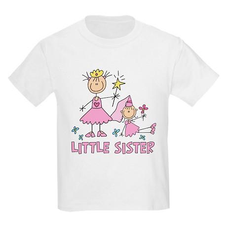 Stick Princess Duo Little Sister Kids Light T-Shir