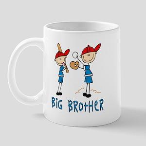 Stick Baseball Big Brother Mug