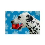 Dalmatian Rectangle Magnet