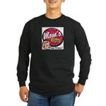 Mom's Diner Long Sleeve Dark T-Shirt
