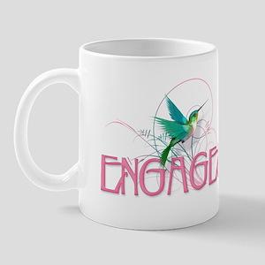 Hummingbird Engaged Mug