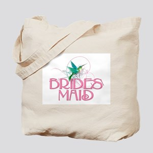 Hummingbird Bridesmaid Tote Bag
