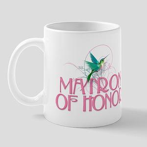 Hummingbird Matron of Honor Mug