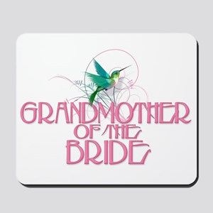 Hummingbird Grandmother Bride Mousepad