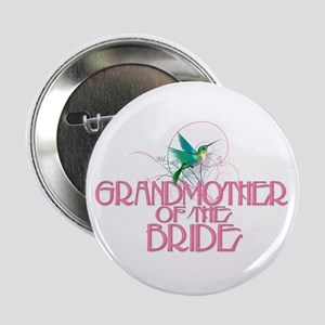 "Hummingbird Grandmother Bride 2.25"" Button"