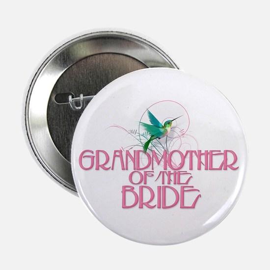 "Hummingbird Grandmother Bride 2.25"" Button"