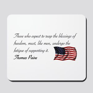 Blessing of Freedom Mousepad