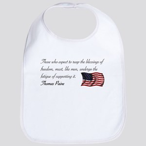 Blessing of Freedom Bib