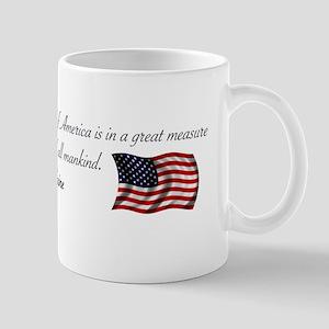 America the Cause of all Mank Mug