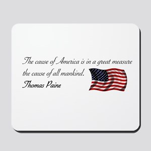 America the Cause of all Mank Mousepad