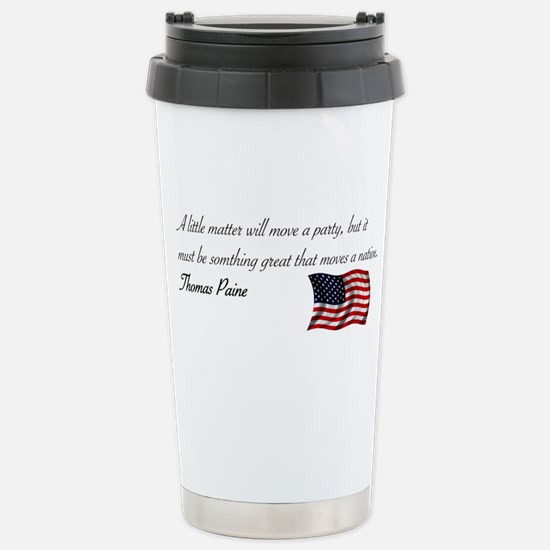 Moving a Nation Stainless Steel Travel Mug