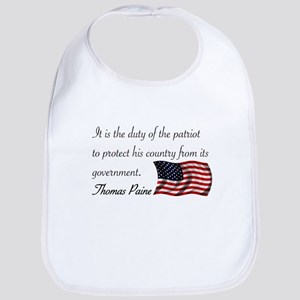 Duty of a Patriot Bib