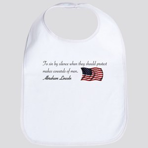 To Sin By Silence Bib
