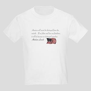 If We Falter Kids Light T-Shirt