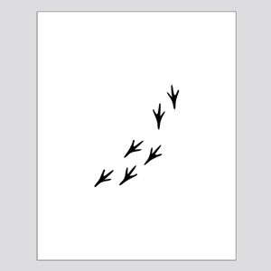 Bird Tracks Small Poster
