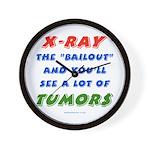 X-RAY BAILOUT Wall Clock