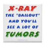 X-RAY BAILOUT Tile Coaster
