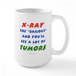 X-RAY BAILOUT Large Mug