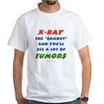 X-RAY BAILOUT White T-Shirt