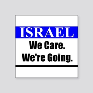 Israel Care Sticker