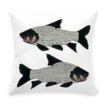 Giant carp barb Everyday Pillow