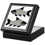 Giant carp barb Keepsake Box