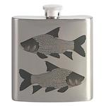 Giant carp barb Flask