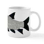 Giant carp barb Mugs