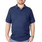 Giant carp barb Dark Polo Shirt