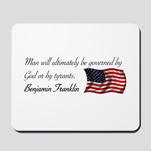 God or Tyrants Mousepad