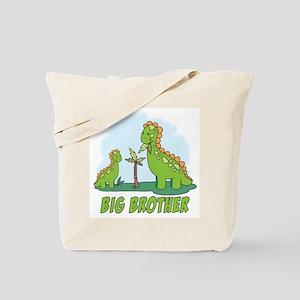 Dino Duo Big Brother Tote Bag