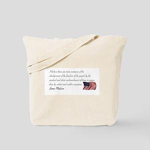 Silent enchroachment Tote Bag