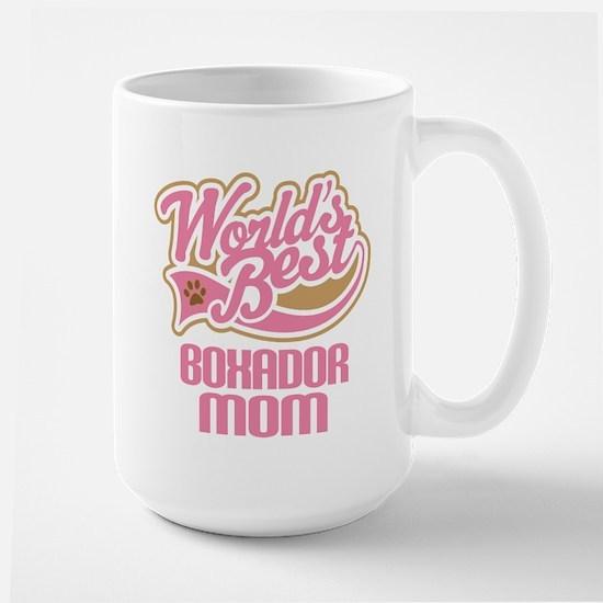 Boxador Dog Mom Mugs