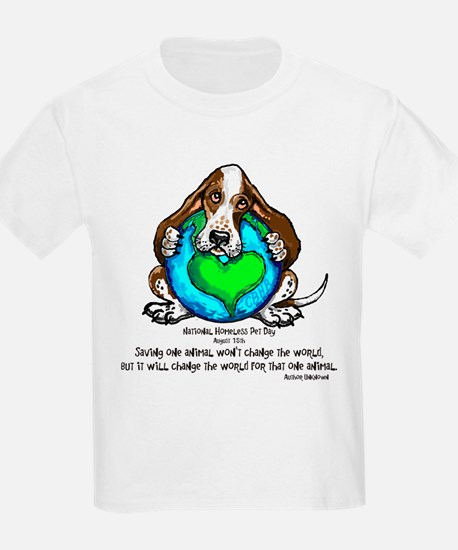 Homeless Pet Day copy T-Shirt