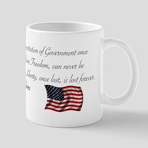 Liberty, once lost Mug