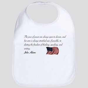 Freedom of thinking, speaking Bib