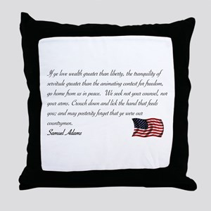 We seek not your counsel Throw Pillow