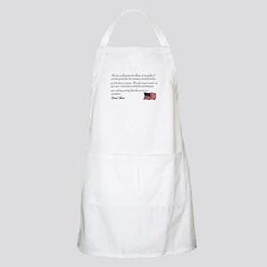 We seek not your counsel BBQ Apron