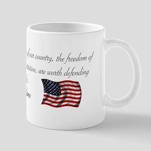 Defending Freedom Mug