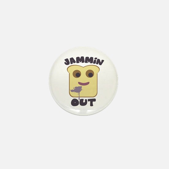 Jammin' Out Mini Button