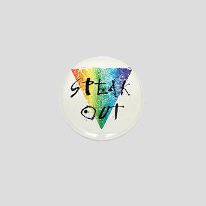 Speak Out Mini Button