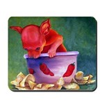 salsa dog Mousepad