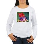 salsa dog Women's Long Sleeve T-Shirt