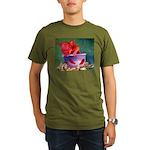 salsa dog Organic Men's T-Shirt (dark)