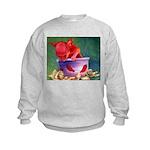 salsa dog Kids Sweatshirt