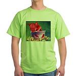 salsa dog Green T-Shirt